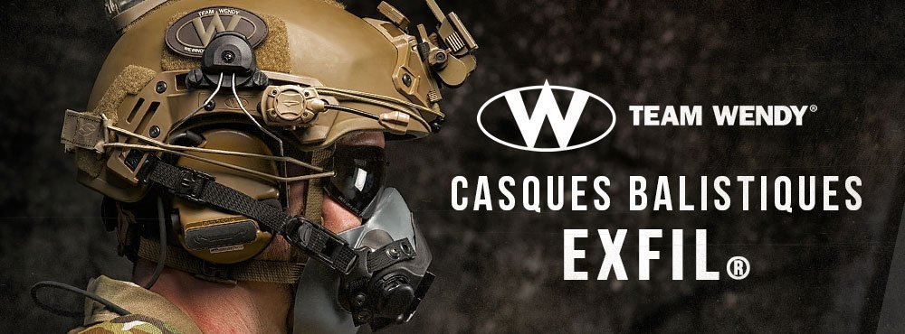 Casques Balistiques Team Wendy